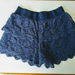 Justice Bottoms - Lace Shorts